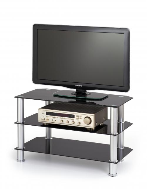 RTV21 stolik TV czarny (2p=1szt)