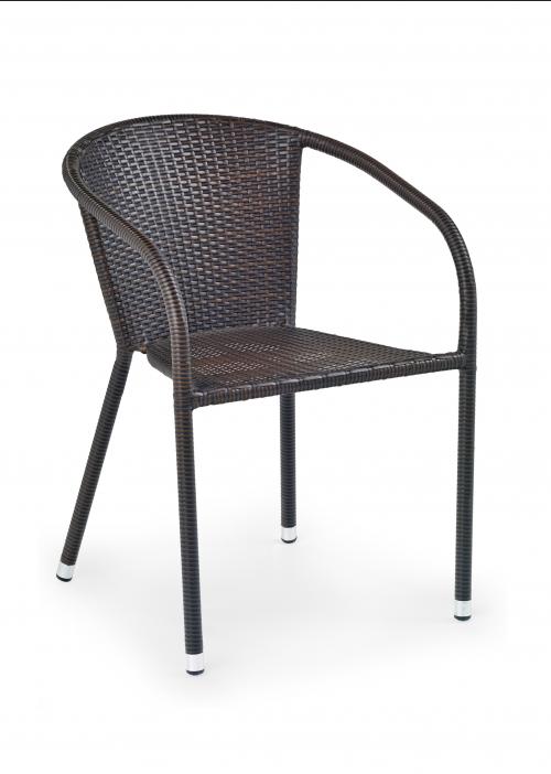 MIDAS krzesło ciemny brąz (1p=1szt)