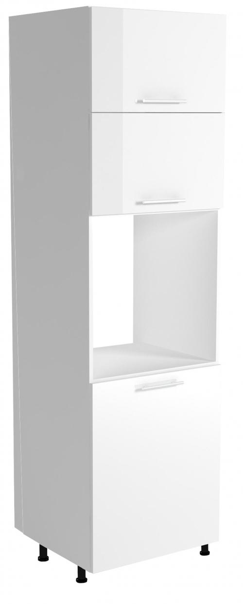 VENTO DP-60/214 szafka dolna wysoka cargo front: biały