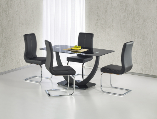 ANTON stół czarny (2p=1szt)