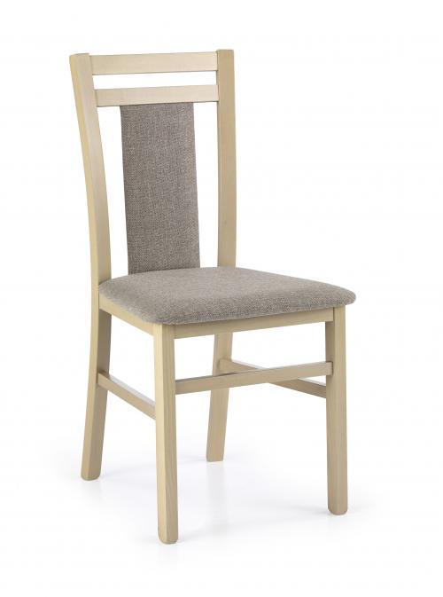 HUBERT8 krzesło dąb sonoma / tap: Inari 23 (1p=2szt)