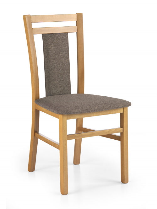 HUBERT8 krzesło olcha / tap: 609 (1p=2szt)