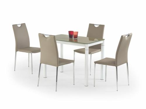 ARGUS stół beżowy/biały (2p=1szt)