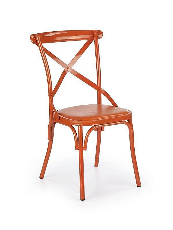 K216 krzesło pomarańczowy (1p=2szt)