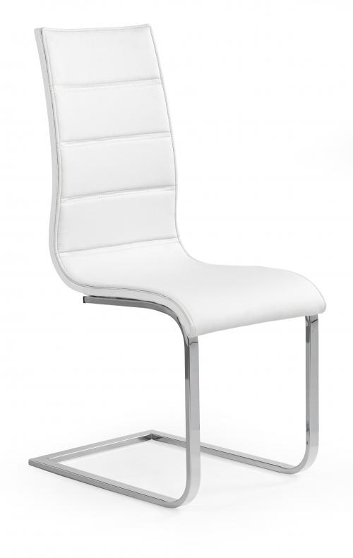K104 krzesło biały/biały ekoskóra (2p=4szt)