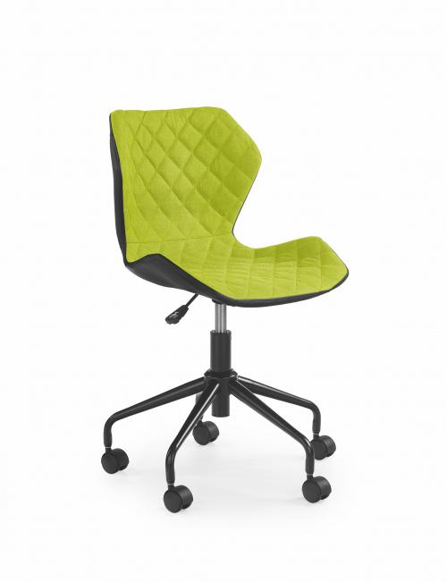 MATRIX krzesło obrotowe czarny/zielony (1p=2szt)