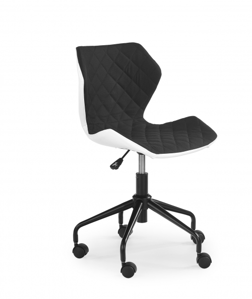 MATRIX krzesło obrotowe biały/czarny (1p=2szt)