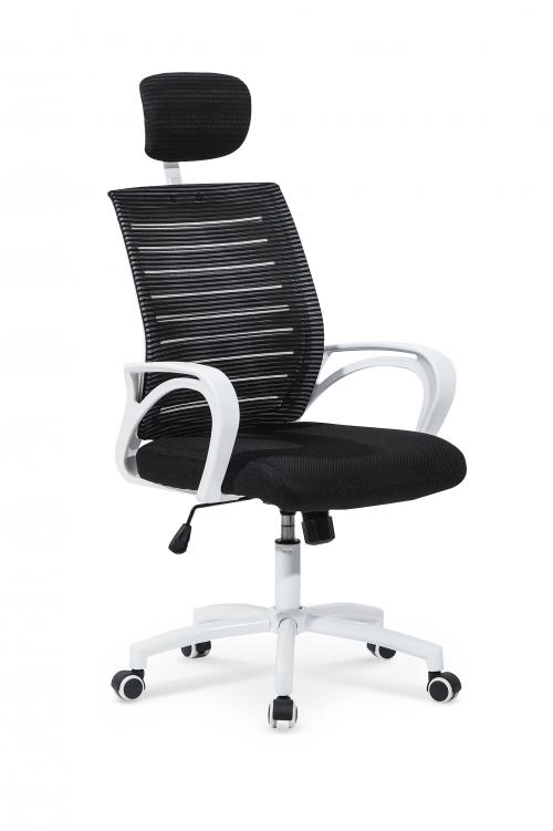 SOCKET fotel biało-czarny