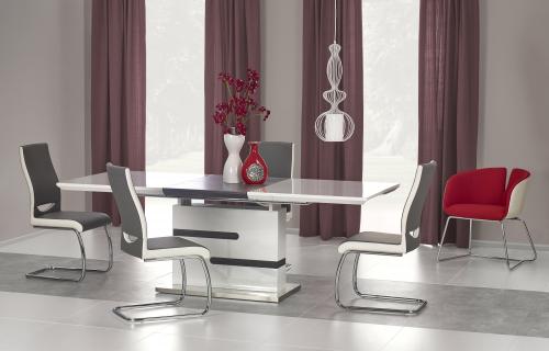 MONACO stół biały / beton
