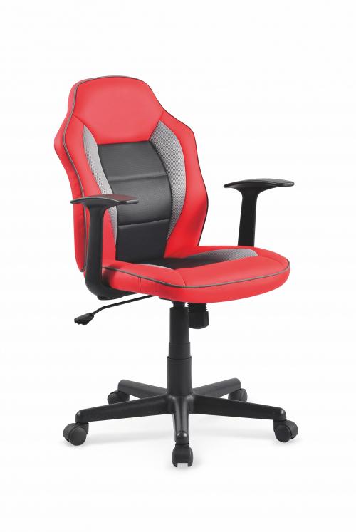 NEMO fotel czerwono-czarny