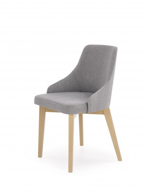 TOLEDO krzesło dąb sonoma / tap. Inari 91 (1p=2szt)