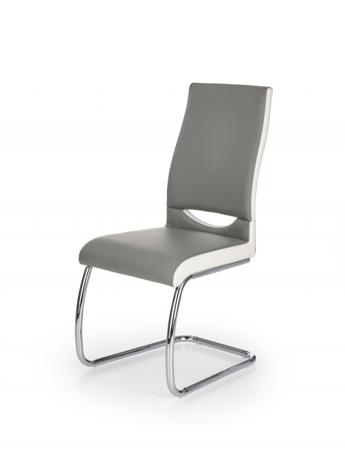 K259 krzesło kolor: popiel / biały