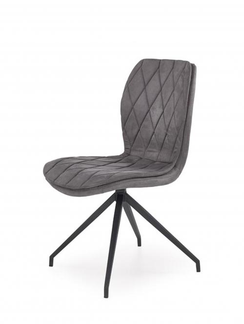 K237 krzesło w kolorze popielatym (1p=2szt)