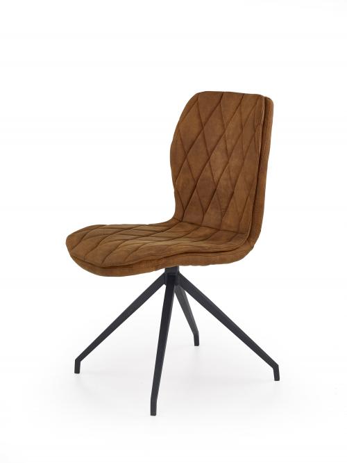 K237 krzesło w kolorze brązowym (1p=2szt)