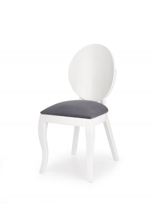 VERDI krzesło biało-popielate
