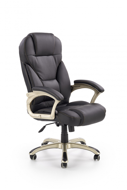 Fotel gabinetowy obrotowy DESMOND czarny