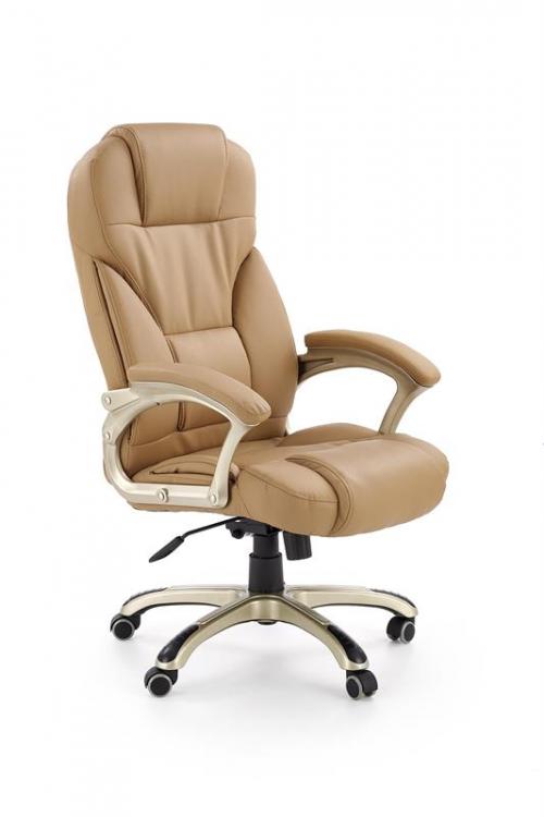 Fotel gabinetowy obrotowy DESMOND beżowy