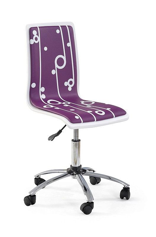 FUN4 fotel młodzieżowy fioletowy