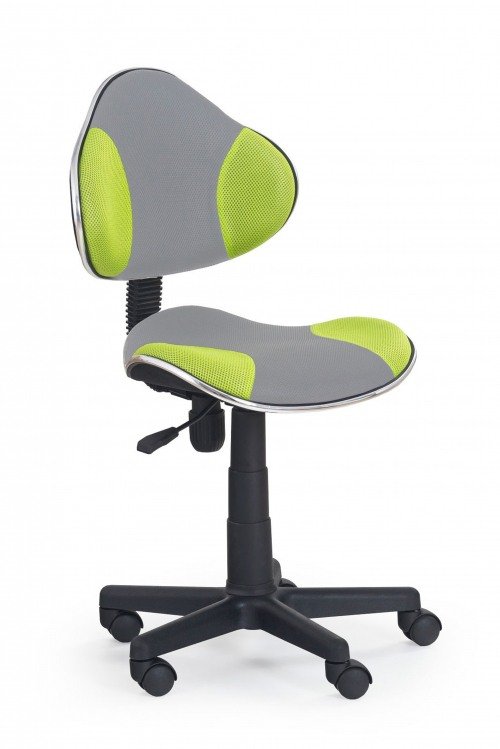 FLASH 2 fotel młodzieżowy szaro-zielony