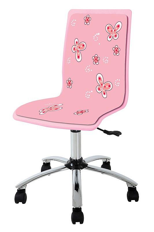 FUN11 fotel młodzieżowy różowy