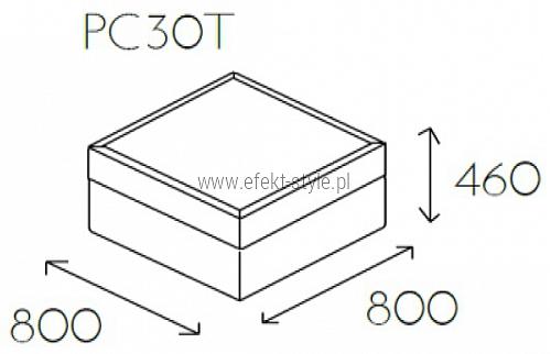 Pufa z blatem PL@NET PC30T