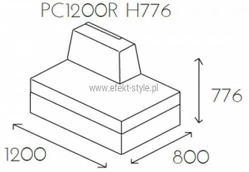 Siedzisko proste PL@NET PC1200R H776