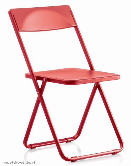 Krzesło konferencyjne SLIM  czerwony