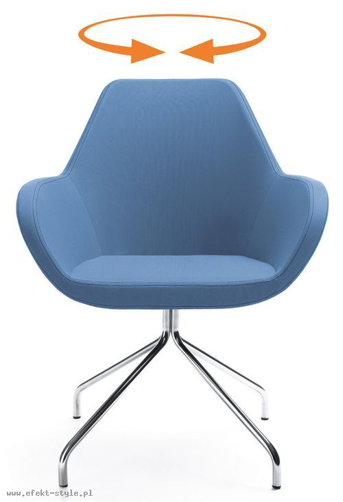 Fotel konferencyjny FAN 10HS obrotowy