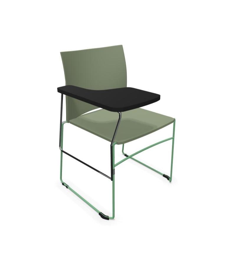 Krzesło konferencyjne ARIZ 550V- plastikowe z blatem