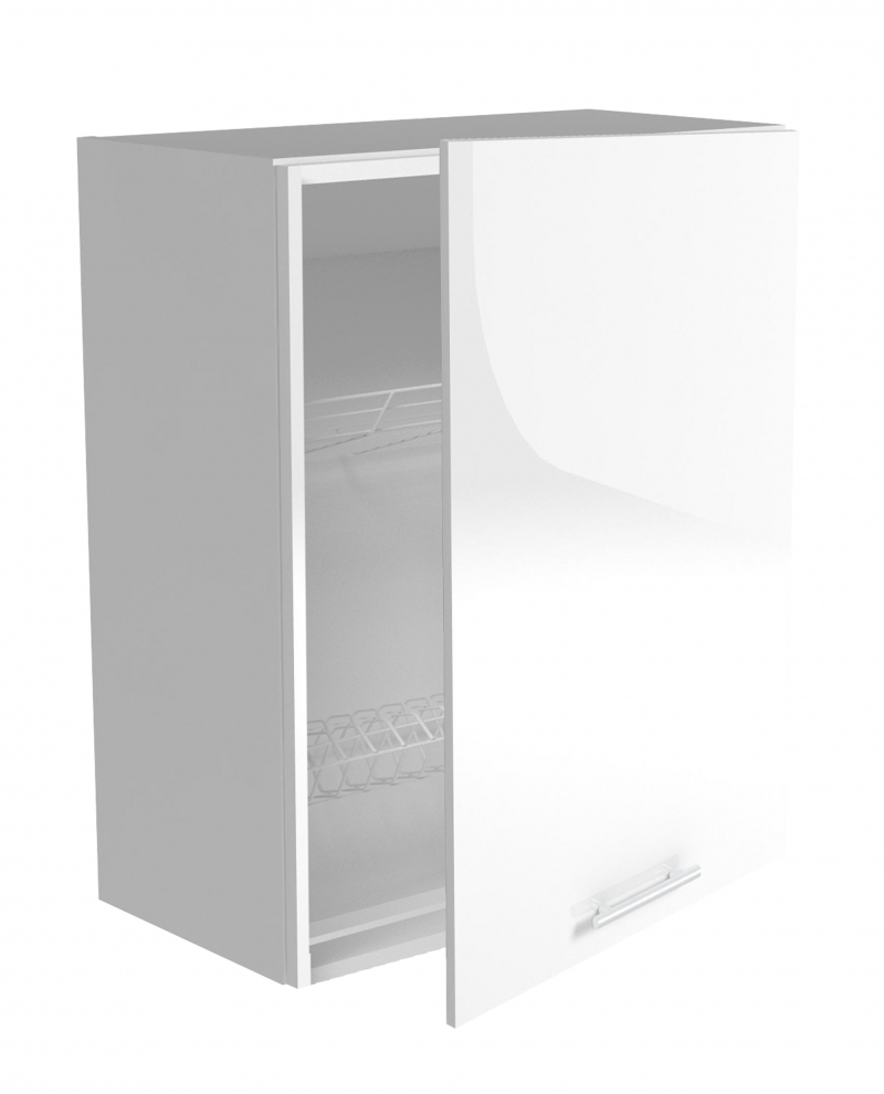 VENTO GC-60/72 szafka górna z ociekaczem, front: biały
