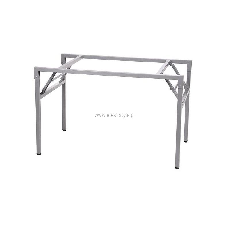 Stelaż składany do stołu i biurka EF-24/A-P - aluminium