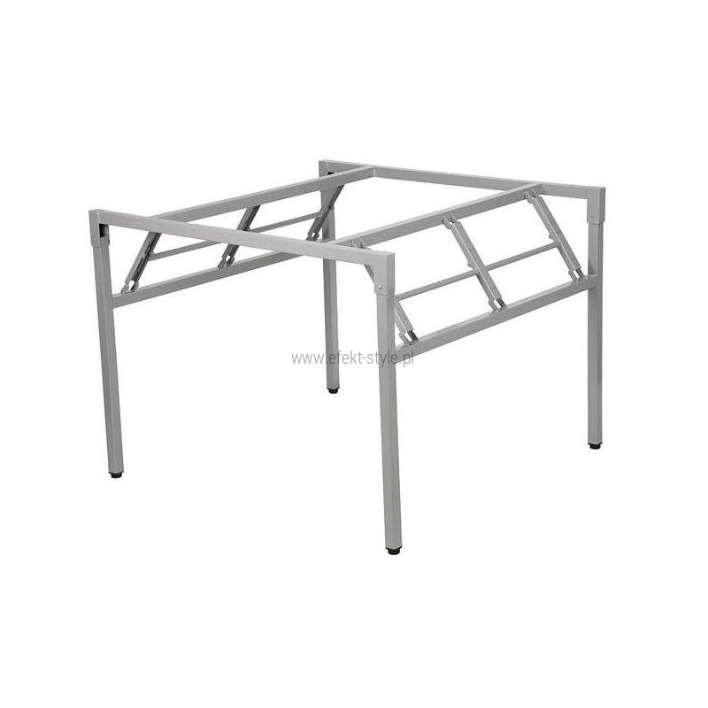 Stelaż składany do stołu i biurka EF-24/A-K - aluminium kwadrat  96x96x72,5h