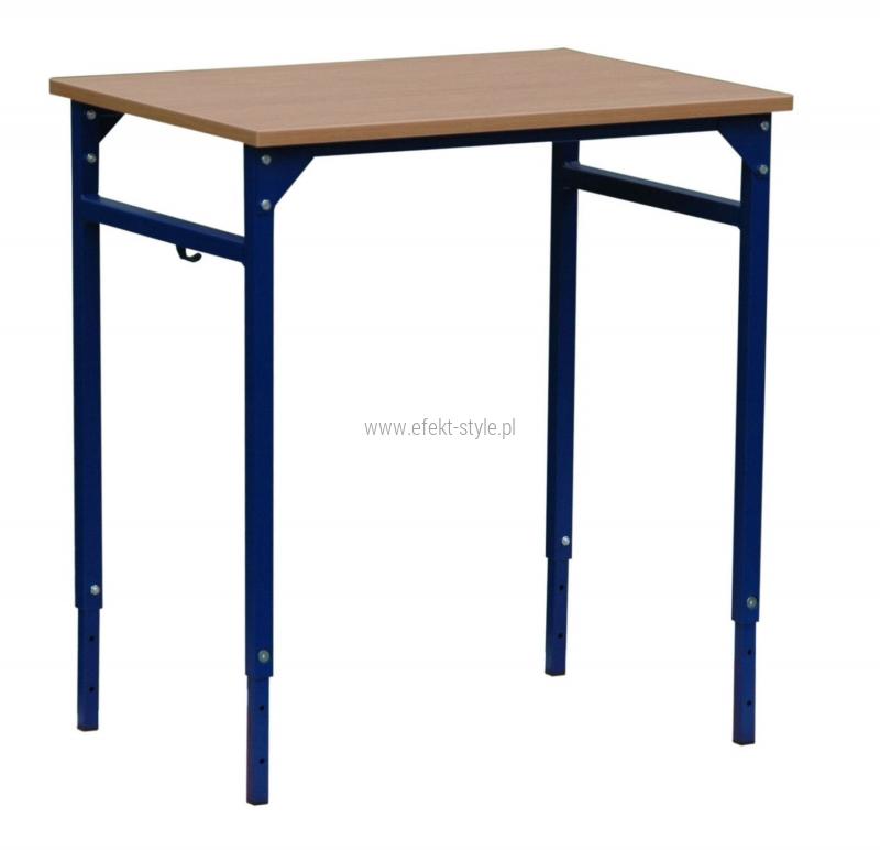Stolik szkolny LEON 1 osobowy REGULOWANY