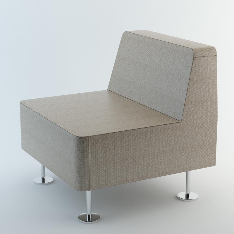 Fotel 22 WALL IN - do łączenia z 2 ściankami