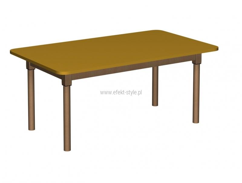 Stolik MB prostokątny drewniany/ opcja regulacja wysokości