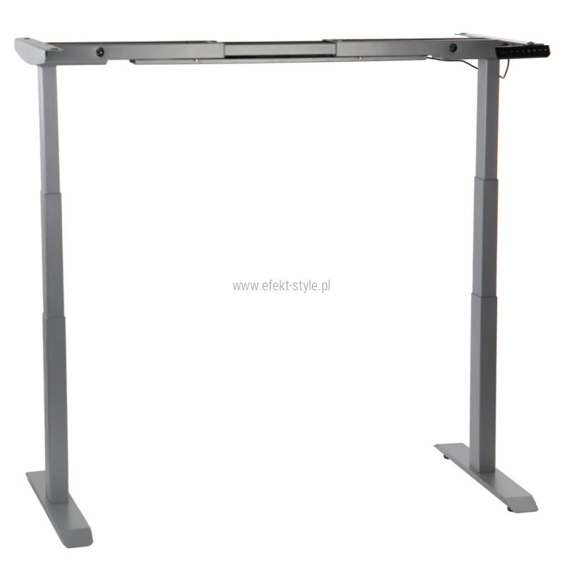 Stelaż elektryczny dwusilnikowy EF-UT04-3T/A-aluminium  - Najniższa cena