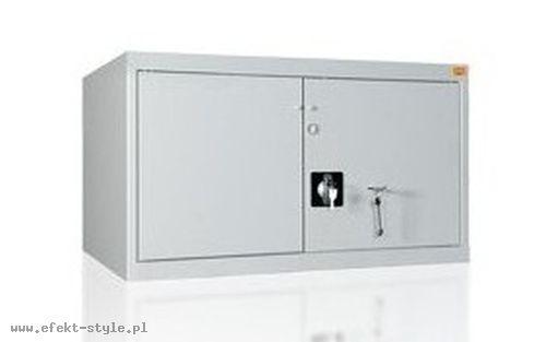 Szafa metalowa biurowa wzmocniona MONA050/2/RM