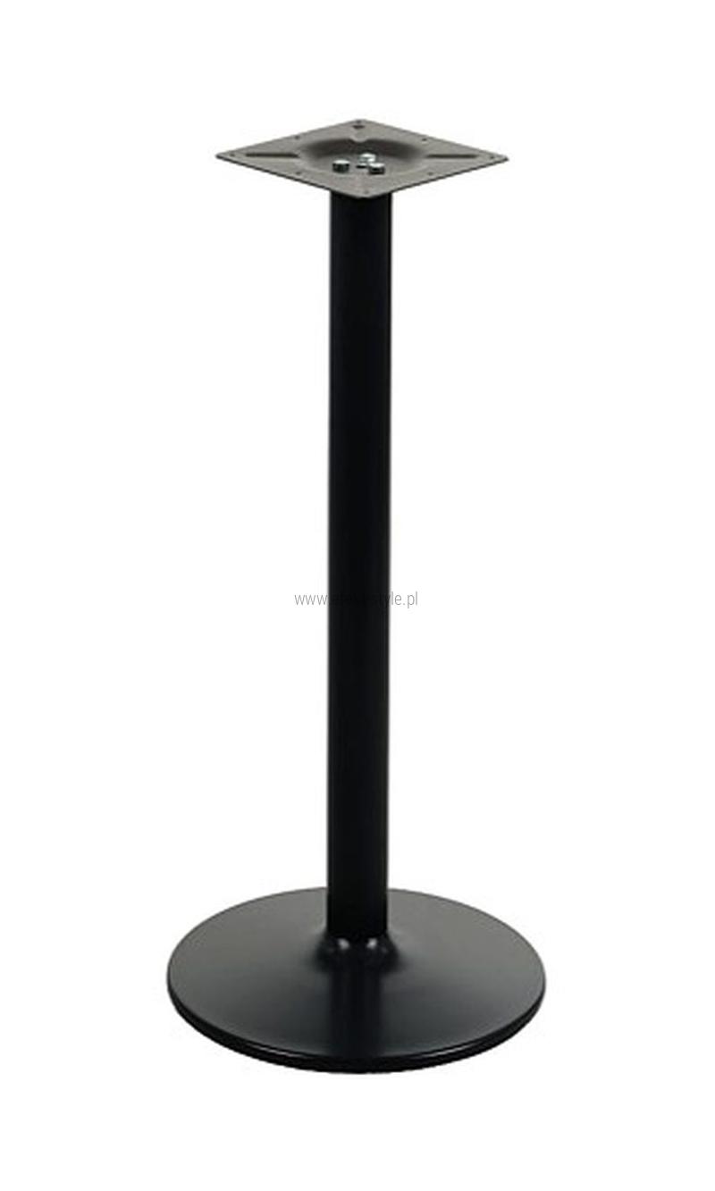 Podstawa do stolika EF-B006 czarna wysokość 110 cm