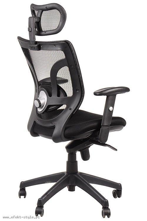 Fotel Biurowy obrotowy EF-KB8901 czarny