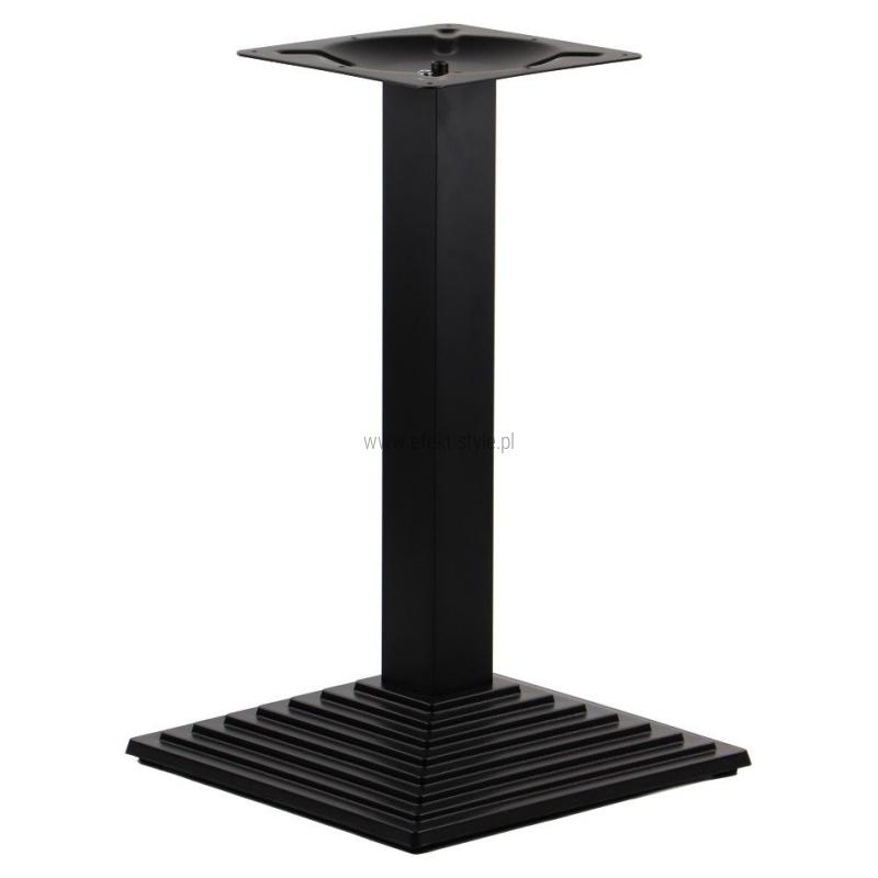 Podstawa do stolika EF-SH-5014-6/B - żeliwna wysokość 72,5 cm 44,5x44,5 cm