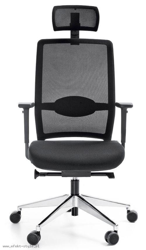 Fotel Biurowy obrotowy VERIS NET 111 z zagłówkiem