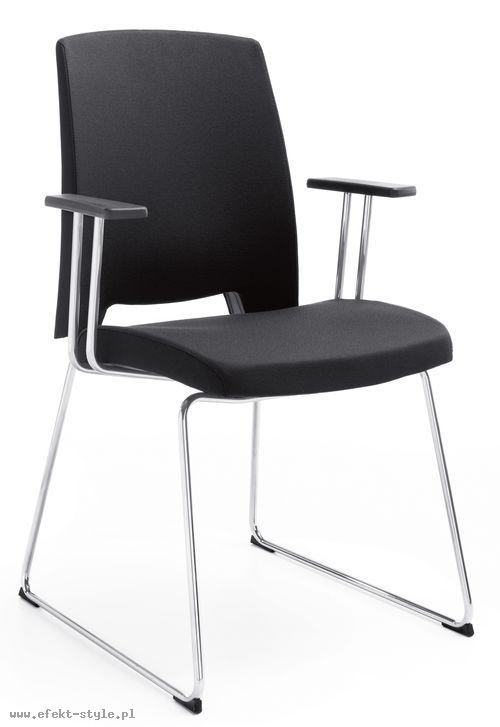 Krzesło konferencyjne ARCA 21V - z podłokietnikiem