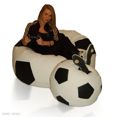 Piłka - Pufa FOOTBALL ZESTAW XXXL L - produkt medyczny