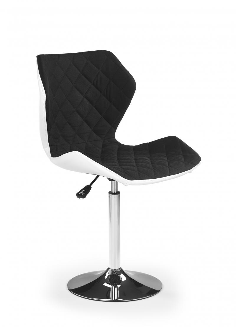 MATRIX 2 fotel biało-czarny