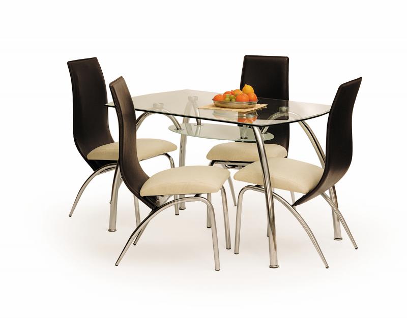 CORWIN BIS stół bezbarwny (2p=1szt)