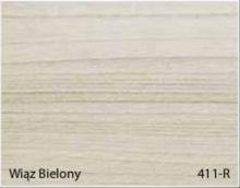 Stolik BANKO 1-osobowy z regulacją pochyłu blatu i wysokości - Wiąz bielony 411-R