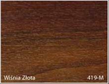 Stolik BANKO 1-osobowy z regulacją pochyłu blatu i wysokości - Wiśnia złota 419-M