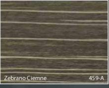 Stolik BANKO 1-osobowy z regulacją pochyłu blatu i wysokości - Zebrano ciemne 459-A