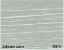 Stolik BANKO 1-osobowy z regulacją pochyłu blatu i wysokości - Zebrano jasne 458-A