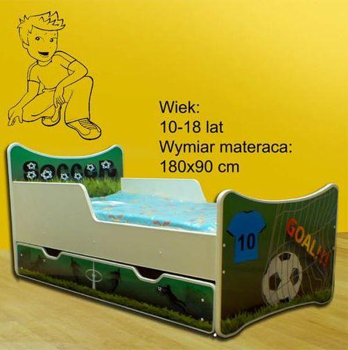Łóżko SMB + materac - różne wzory - 180x90 -SMB